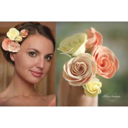 """""""Викторианские розы"""" заколки шпильки для волос"""