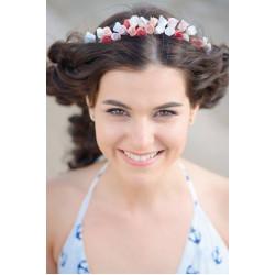 """""""Веночек с розами"""" веночек для волос с цветами"""