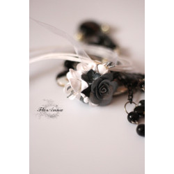 """Блестящие ароматы"" кулон с розой"